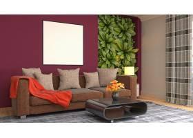 北欧风时尚简洁客厅设计