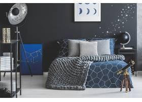 北欧风时尚简洁星辰天文房间设计