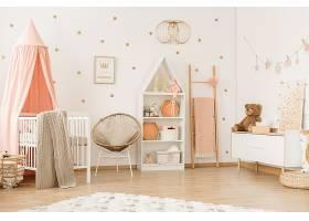 北欧风时尚简洁儿童房间卧室设计
