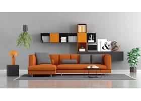 清新文艺时尚简洁客厅设计