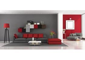 商务时尚简洁客厅设计