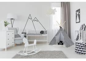 创意时尚儿童露营风格简洁童心浪漫房间设计