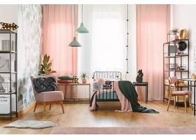 北欧风高端大气火烈鸟热带房间设计