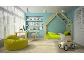 北欧风高端大气儿童房间设计