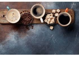 可可豆咖啡与糖