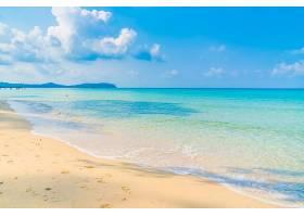 阳光落日海滩
