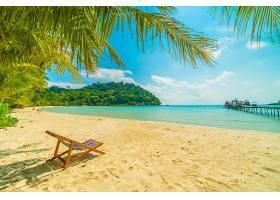 海边度假岛屿沙滩椅