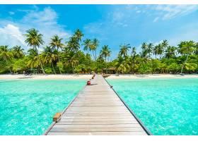 唯美的热带度假岛屿