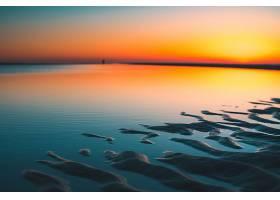 落日黄昏美景