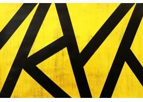 金色黑底块状刷子笔痕痕迹素材背景