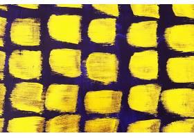 金色蓝底刷子笔痕痕迹素材背景