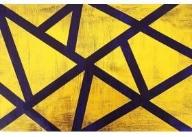 金色蓝底块状刷子笔痕痕迹素材背景