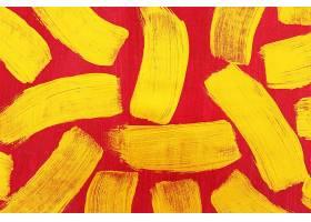 金色红底条形刷子笔痕痕迹素材背景