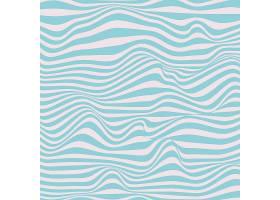青色扭曲线条装饰背景