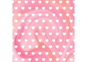 粉色爱心图案装饰背景