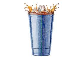 可乐饮料杯子智能样机素材
