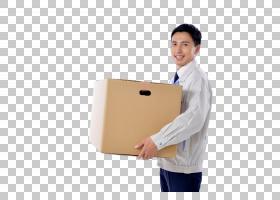 搬箱子的男人
