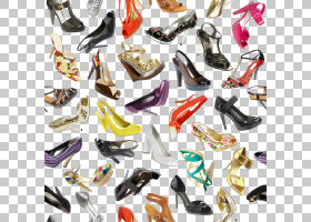 女性各式各样的高跟鞋