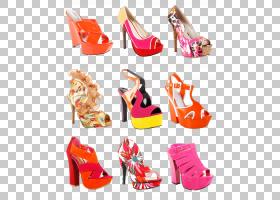 多款个性时尚潮流女性高跟鞋
