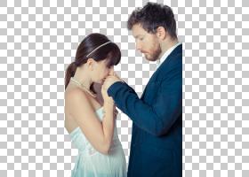 幸福甜蜜的外国新婚夫妻