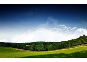 地球,A,轻柔的,世界,壁纸,(7)图片