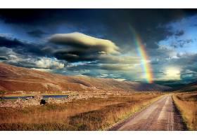 地球,彩虹,壁纸,(5)