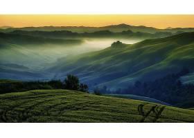 地球,风景,小山,风景,壁纸,