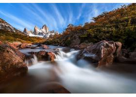 地球,溪流,阿根廷,河,自然,山,风景,岩石,壁纸,图片
