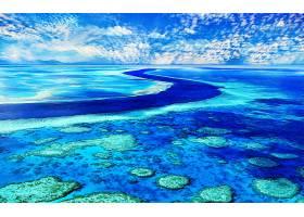 地球,风景优美的,地平线,矿脉,天空,蓝色,蔚蓝的,夏天,壁纸,图片