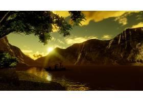 地球,湖,湖,壁纸,(55)图片