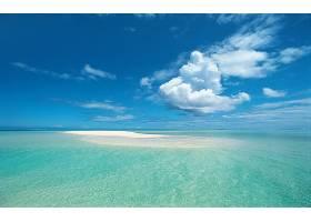 地球,海洋,热带的,蓝色,地平线,云,海滩,夏天,天空,壁纸,图片
