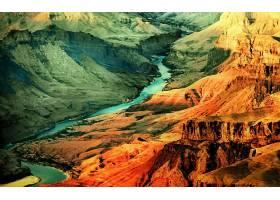 地球,宏伟的,峡谷,峡谷,壁纸,(8)
