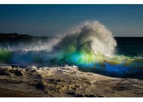 地球,波浪,海,壁纸,(1)图片