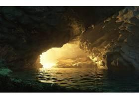 地球,洞穴,洞穴,壁纸,(5)