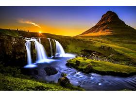 地球,瀑布,瀑布,壁纸,(315)
