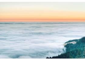 地球,雾,自然,云,风景,日落,地平线,壁纸,图片