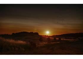 地球,日落,自然,风景,壁纸,图片