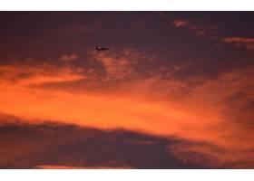 地球,日落,飞机,林区大火,天空,云,飞机,壁纸,图片
