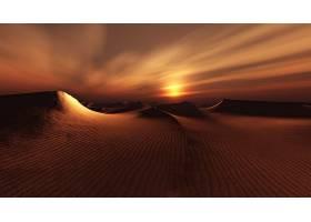 地球,日落,沙漠,风景,沙丘,沙,自然,壁纸,