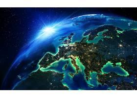 地球,从,空间,行星,壁纸,图片