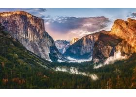 地球,风景,自然,森林,山谷,山,悬崖,壁纸,图片