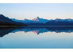 地球,湖,湖,湖,Pukaki,自然,山,新建,西兰岛,反射,壁纸,图片