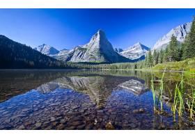 地球,湖,湖,自然,山,风景,天空,壁纸,图片