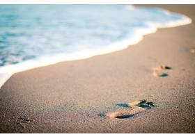 地球,海滩,脚印,沙,自然,污迹,壁纸,