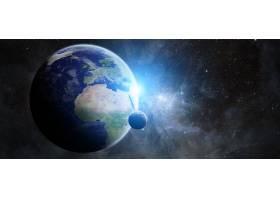 地球,从,空间,空间,行星,壁纸,(3)图片
