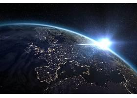 地球,从,空间,行星,壁纸,(5)图片