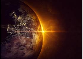 地球,从,空间,行星,壁纸,(7)图片
