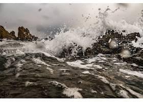 地球,波浪,泡沫,自然,水,壁纸,图片