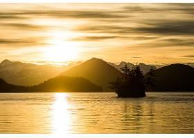 地球,日出,自然,山,岛,壁纸,图片