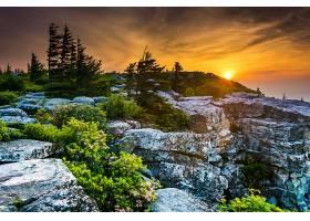 地球,日出,自然,岩石,壁纸,图片